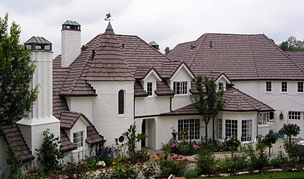 Los Angeles Roofing Contractor. Finished Roof In The Bel Air Neighborhood  Of Los Angeles, California